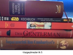 Vazgeçemediğim Kitaplar