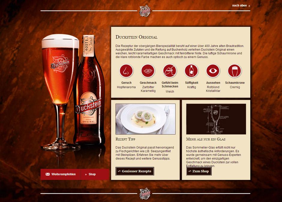 Bira tanıtım bölümü